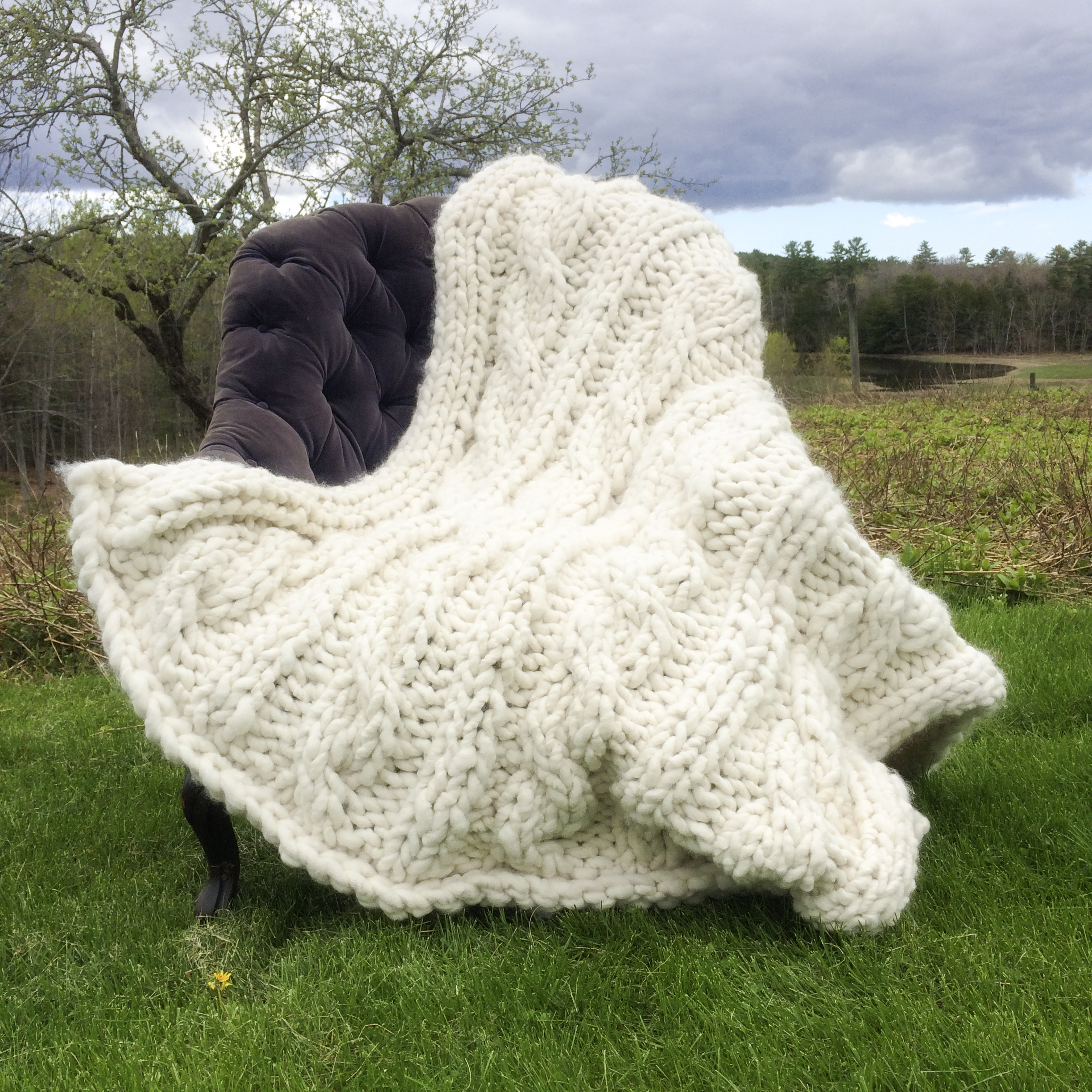 Decadent and Thick Alpaca Cabled Afghan   Jwrobel ...